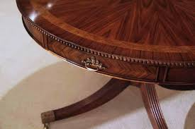 center table drum table or dining table with drawers