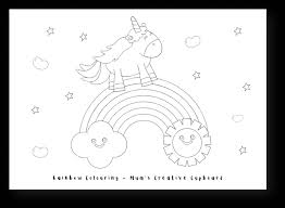 Use the menu at the left to choose right category. Printable Rainbow Coloring Pages For Kids Mum S Creative Cupboard