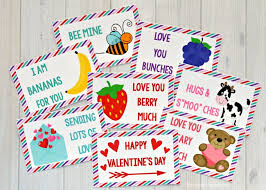 Missed sending a holiday card? Valentine S Day Lunch Box Notes The Resourceful Mama