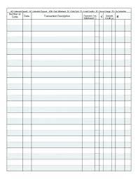 Register Book Template Bank Register Book Checkbook Register