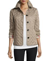 Cotton Quilted Jacket | Neiman Marcus & Quick Look. Burberry · Ashurst Classic Modern Quilted Jacket Adamdwight.com