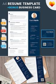 Carol Harris Business Analyst And Financial Consultant Resume Template 65255