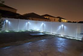 outdoor lighting solar fence caps outdoor led flood lights fence lamp yard lights from solar
