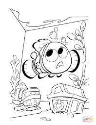 Small Picture Nemo In The Aquarium coloring page Free Printable Coloring Pages