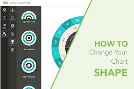 Family Tree Maker Fan Chart Family Tree Maker How To Change Family Tree Shape Family