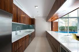 modern galley kitchen design white ceramic dinner sets storage island furniture stainless