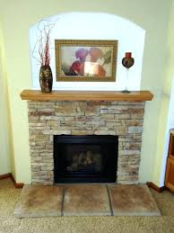 building a stone fireplace surround image of stacked stone fireplace installing stacked stone fireplace surround