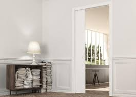 single pocket doors. eclisse single pocket door system with architrave. the range of classic systems doors t