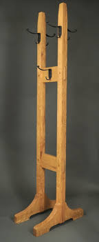 Stickley Coat Rack Stu's Woodworks Building Gustav Stickley's No 100 Double Costumer 27