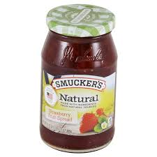smuckers strawberry natural fruit spread 17 25 oz