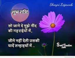 Top 30+ Good Night Shayari SMS Images ...