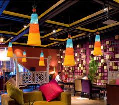 Internet Shop Interior Design Feisendd Pendant Lights Creative Rattan Wine Bottle Led