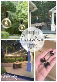 Home Depot Cafe Lights Quick Tips For Hanging Outdoor String Lights