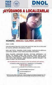 NOMBRE: ARACELI GALINDO JAVIER. EDAD:... - Noticia de putla   Facebook