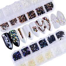 599 Nehtové šperky Glitter Na Nehty Design Nehtů Elegantní Luxusní Zářivé Luxus Módní Design Jiskřivý Denní