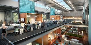 Design Dynamics Costa Mesa Lpa Inc Transforms Former Los Angeles Times Building Into A
