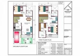 20 40 duplex house plan new house plan for 20 feet by 45 feet plot awesome
