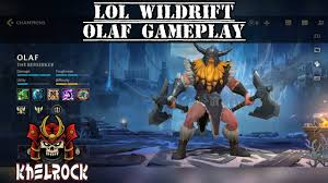OLAF Gameplay League Of Legends ...