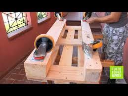 Costruire Portagioie Di Legno : Pallet faidate come costruire un divanetto in legno di