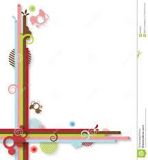 Abstract Rainbow Border Stock Illustration Illustration Of Stripes