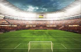 Maak Van Je Kamer Een Stadion Met Voetbal Behang Fotobehang