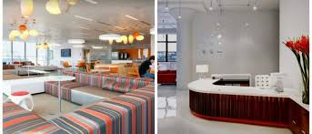 interior of office. Types Of Office Interiors Can Be Different, It All Depends On Tasks. Creation Interior Has Absolutely Different Principles Organization In