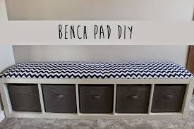 Diy Bench How To Make A Diy Bench Cushion Oh My Creative