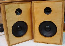 speakers in box. speakers in box
