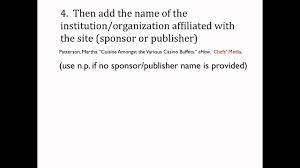 Mla Citation For Website Article