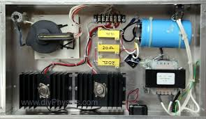 diy physics blog d i y 250 kv high voltage dc power supply inside chasis of d i y 300 kv dc high voltage power supply by david and shanni prutchi