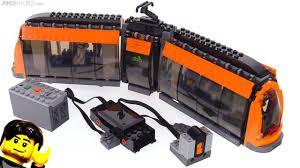 Lego Technic Power Functions Lights Lego Light Rail Tram Power Functions Motor Rc Installed 60097