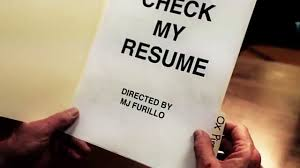 Check My Resume