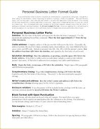 Professional Business Letter Format Vbhotels Co