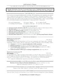 Resume Objectives For Administrative Assistant Stunning Admin Assistant Resume Mkma