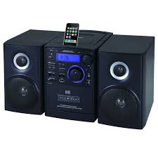 supersonic cd player with ipod docking usb sd aux inputs
