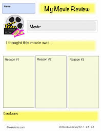 ipad graphic organizer my movie review k computer lab ipad graphic organizer opinion my movie review