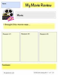 ipad graphic organizer my movie review k computer lab ipad graphic organizer opinion my movie review