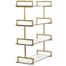 charming gold wall shelf gold leaf wall shelf n1961639