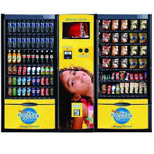 Vending Machine Pictures Impressive Smart Double Cabin Vending Machine With Cash Acceptor Snacks
