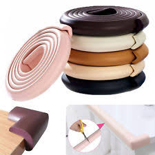 table edge guard. 2 or 4 metre baby safety foam table edge guard protector optional corners