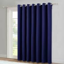 How To Block Light Around A Door Wide Blackout Curtain Grommet Light Block Drapes For Patio Sliding Door 1 Panel