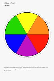 Colour Wheel Chart Colors Color Wheel Template Printable Clipart Best Simple Color