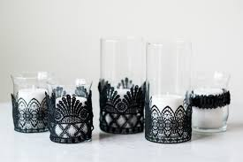 Diy Candle Holders Diy Spooky Hurricane Candle Holders Crafthubs