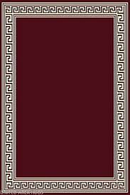 details about 8x10 area rug modern greek key design burdy with border size 7 7 x10 new