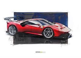 Il design degli esterni, l'abitacolo interno, foto, video, caratteristiche, motore, prestazioni, presentazione, uscita e prezzo Ferrari Protipo P80 C Nuova Supercar Del Cavallino Da Maranello Specifiche E Foto