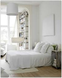 bedroom interior country. Interior Design, Small Modern Scandinavian Country Style Bedroom Designs With All White Furniture T