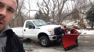 How to Wash the Bottom of your Snow Plow Truck - YouTube