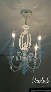 diy chandelier makeover sawdustsisters com