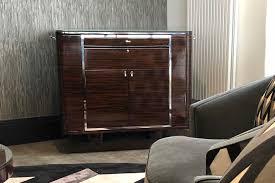 Art Deco Bar Cabinet Mark Alexander Design
