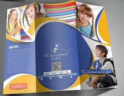 tri fold school brochure template great school brochure templates design freebies on fashion design